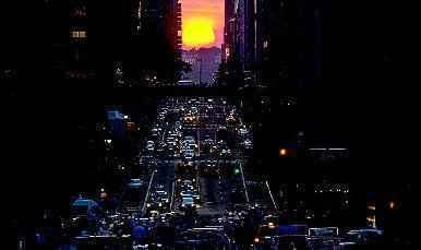 曼哈顿悬日