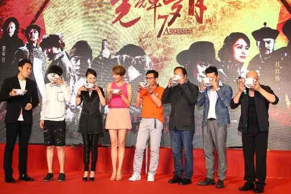 《光辉岁月》广州首映 黄日华吕良伟保利会影迷