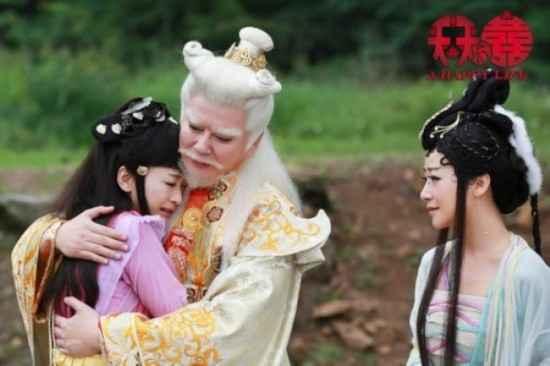 谭耀文《天天有喜》演五毒教主 反派感情揭秘