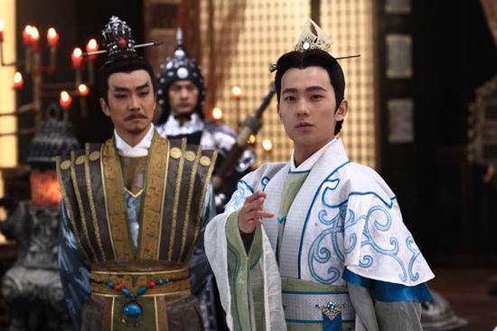 电视剧《新洛神》上演宴饮斗诗 杨洋才高力压张迪