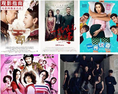 七夕档血战在即 电影《一夜惊喜》《小时代》被看好