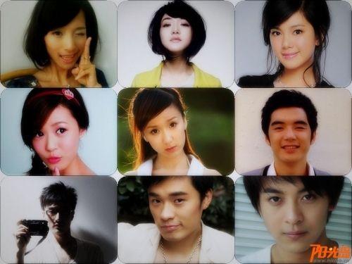 电视剧《爱情公寓4》主演陈赫骚气娄艺潇自拍照起底