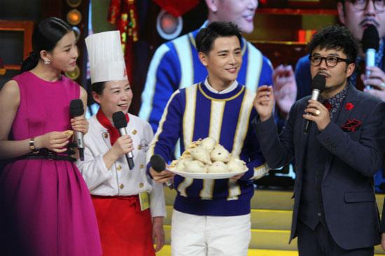 孙坚做客《天天向上》率陕西乡党 介绍家乡美食