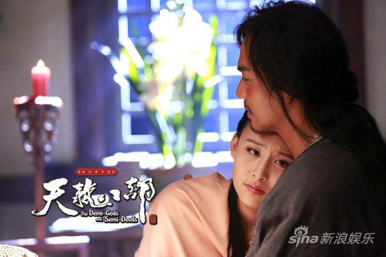 电视剧《天龙八部》热播 萧峰误杀阿朱虐哭观众
