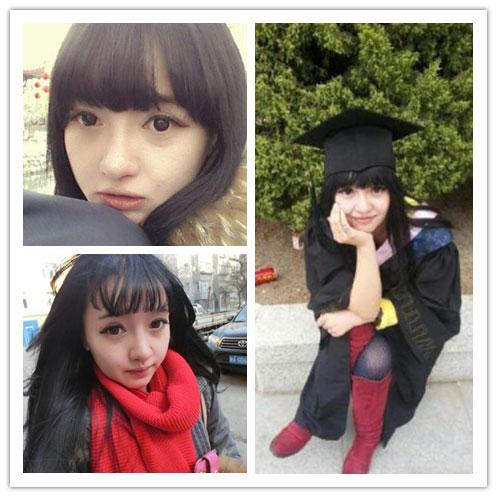 西藏大学校花身份曝光 晒与男友亲密照引嫉妒