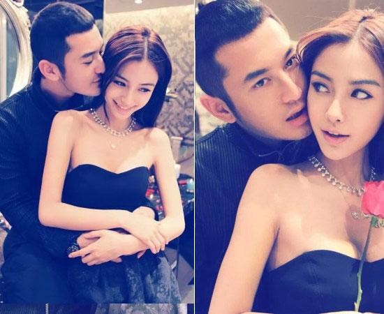 黄晓明求婚 跨年演场会向Angelababy求婚
