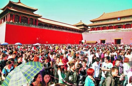故宫强制限流 每日观众接待量限制在8万人次