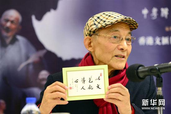 84岁济公演戏 到世上来总要留点痕迹