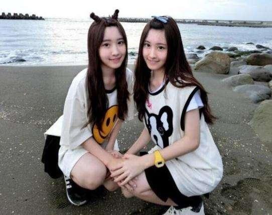 台湾最美双胞胎 14后的今天女大18变