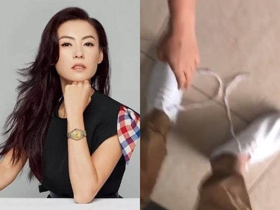 张柏芝买最贵鞋子 遭家中菲佣嫌弃