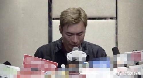 """许志安承认出轨 原因""""喝了很多酒"""""""