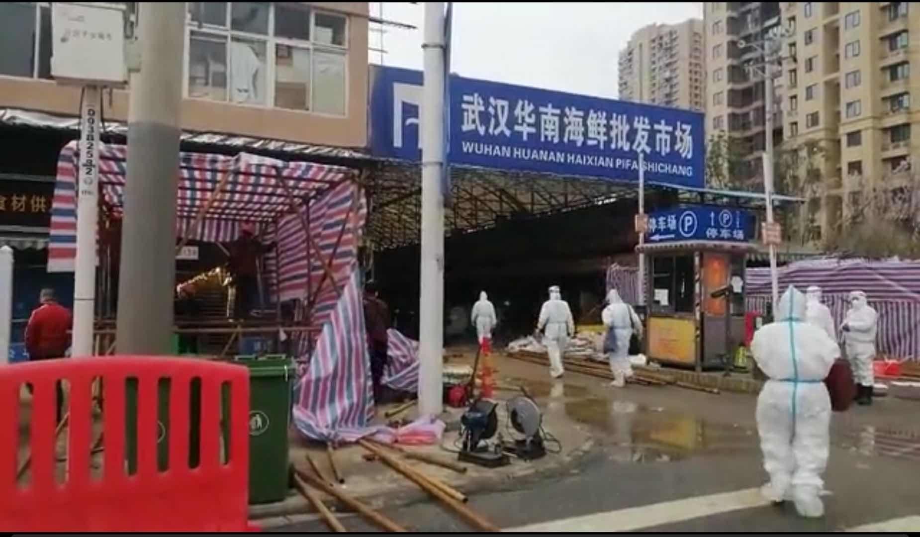 华南海鲜市场消杀 处理囤积货物无害化